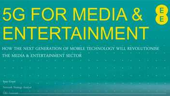 5G for Media and Entertainment
