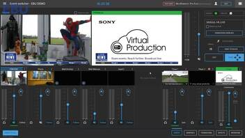 Sony Virtual Production: Demonstration