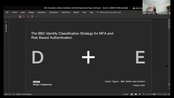 The BBC identity classification strategy for multi-factor and risk-based authentication